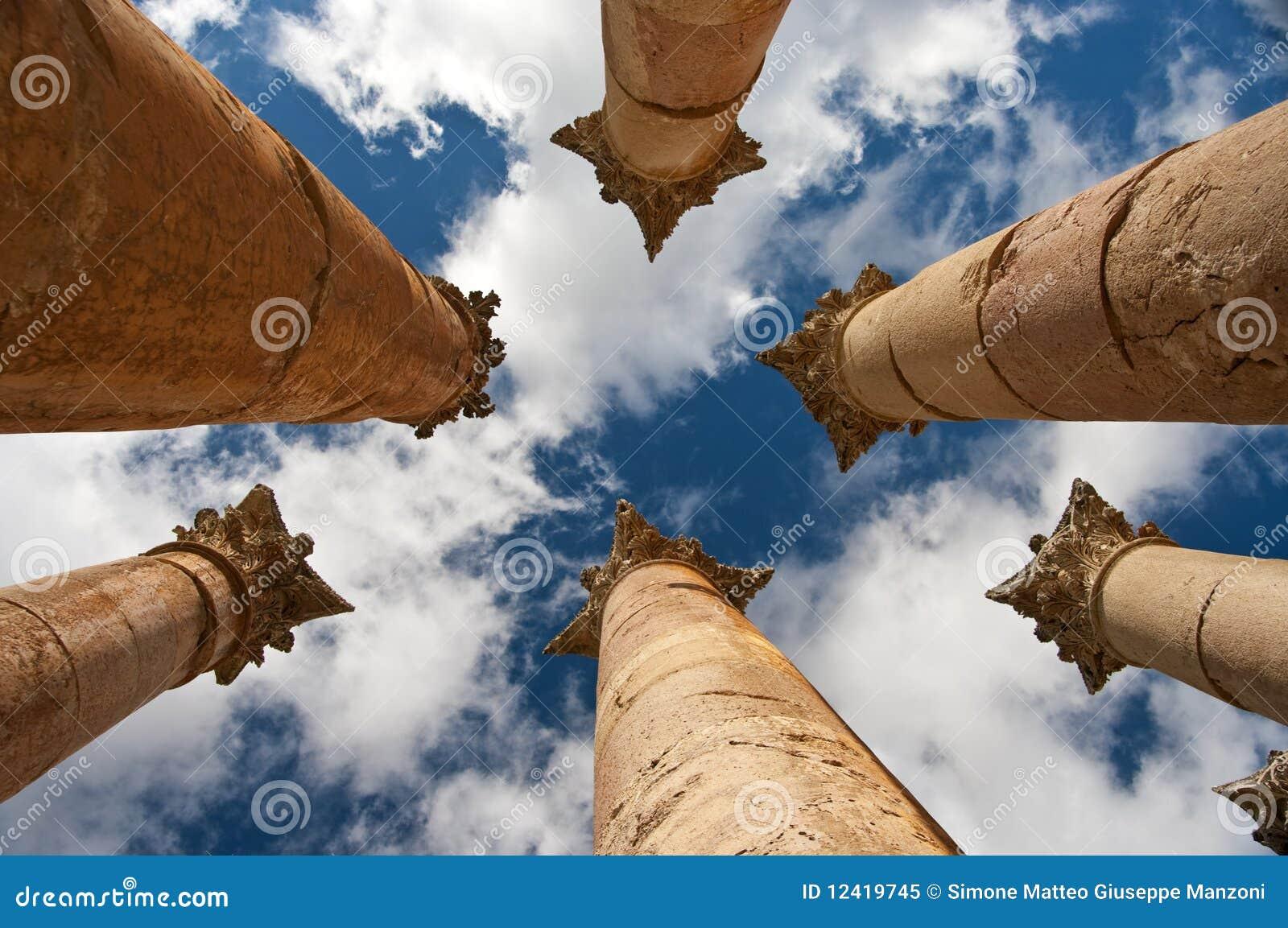Artemis jerash乔丹寺庙
