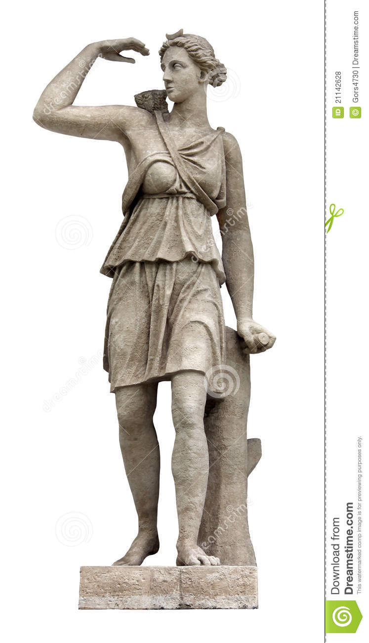 Artemis (identified with Diana by Romans) is Olympian Goddess of the ...