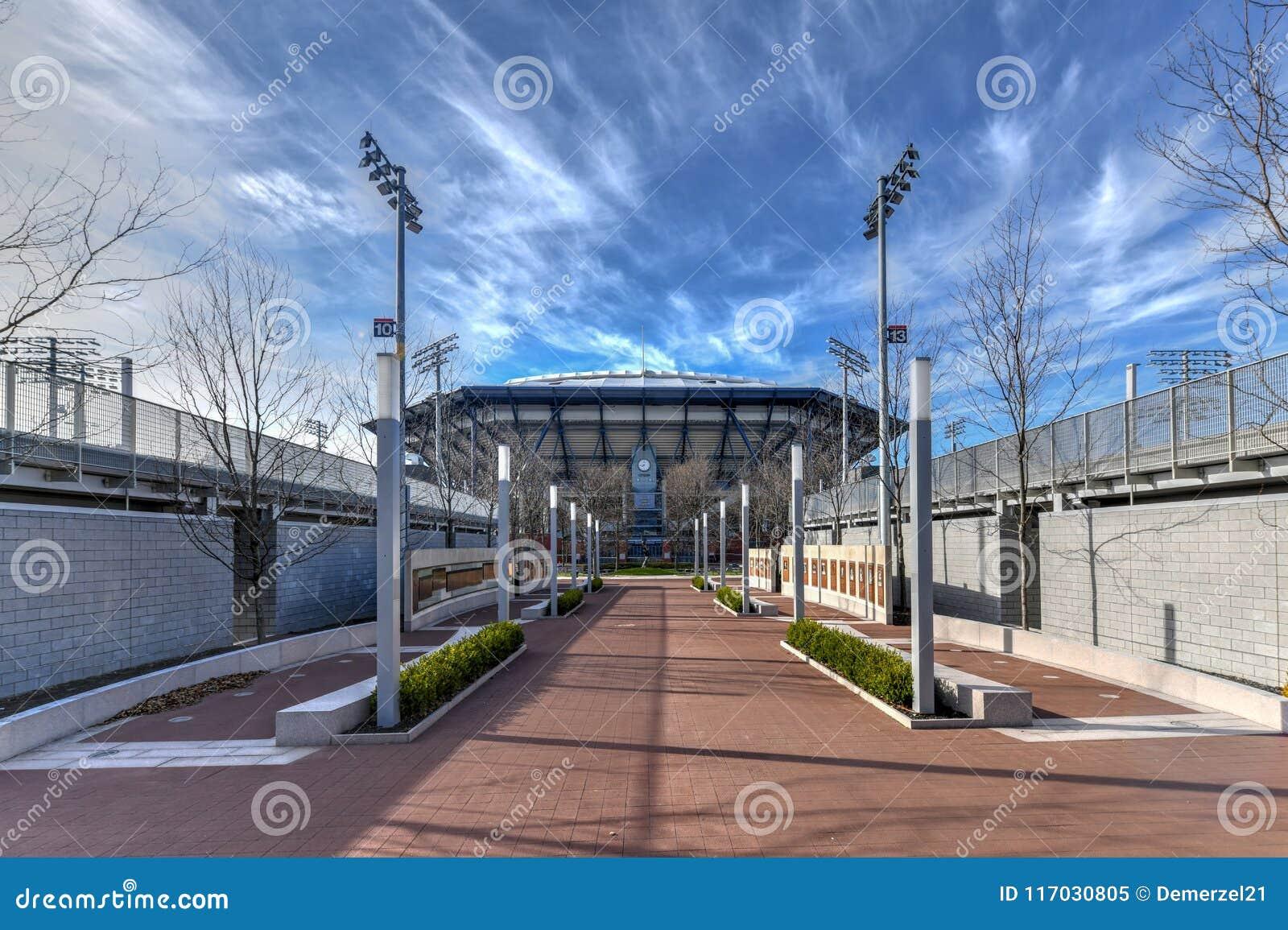 Arthur Ashe Stadium - Flessinga, New York
