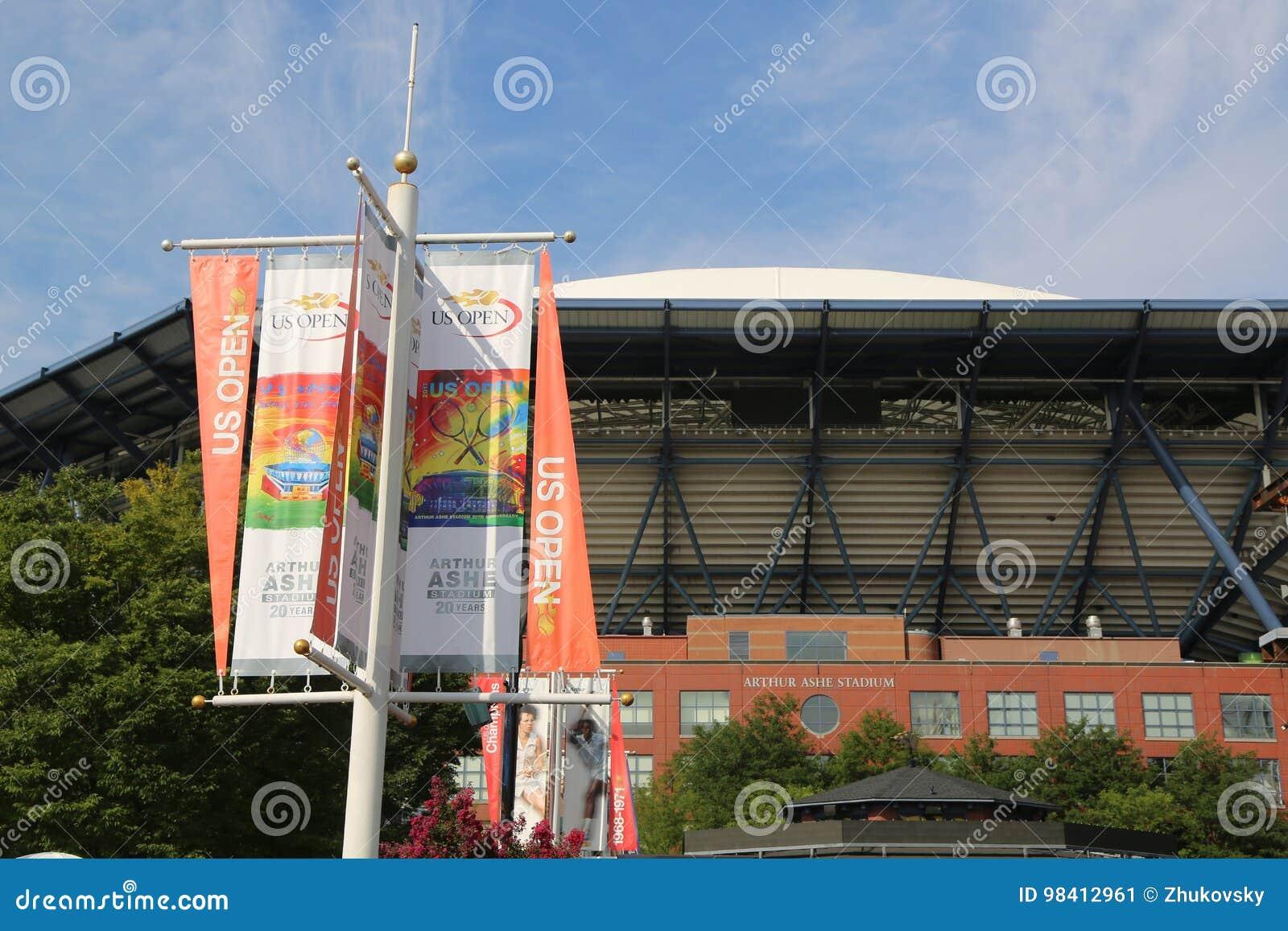 Arthur Ashe Stadium viert 20ste Verjaardag in Billie Jean King National Tennis Center