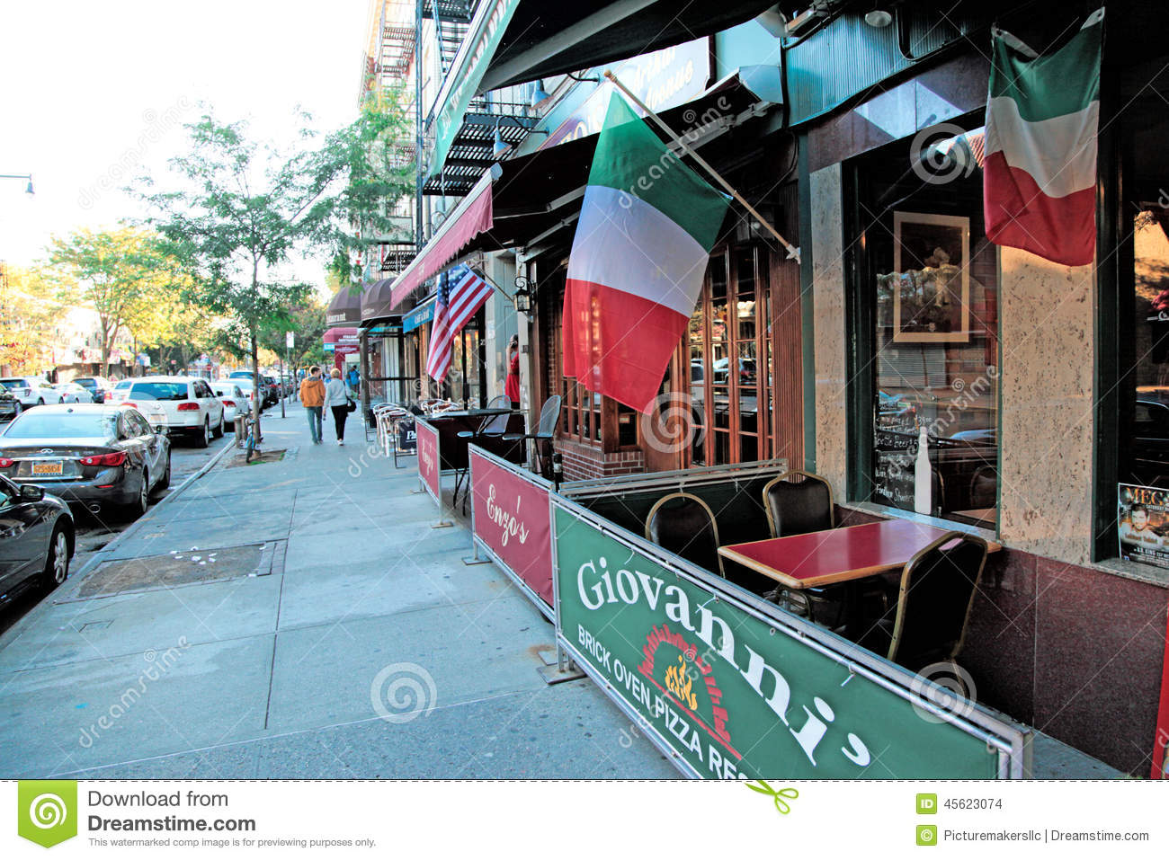 Arthur Ave Little Italy Nyc Editorial Stock Image Image