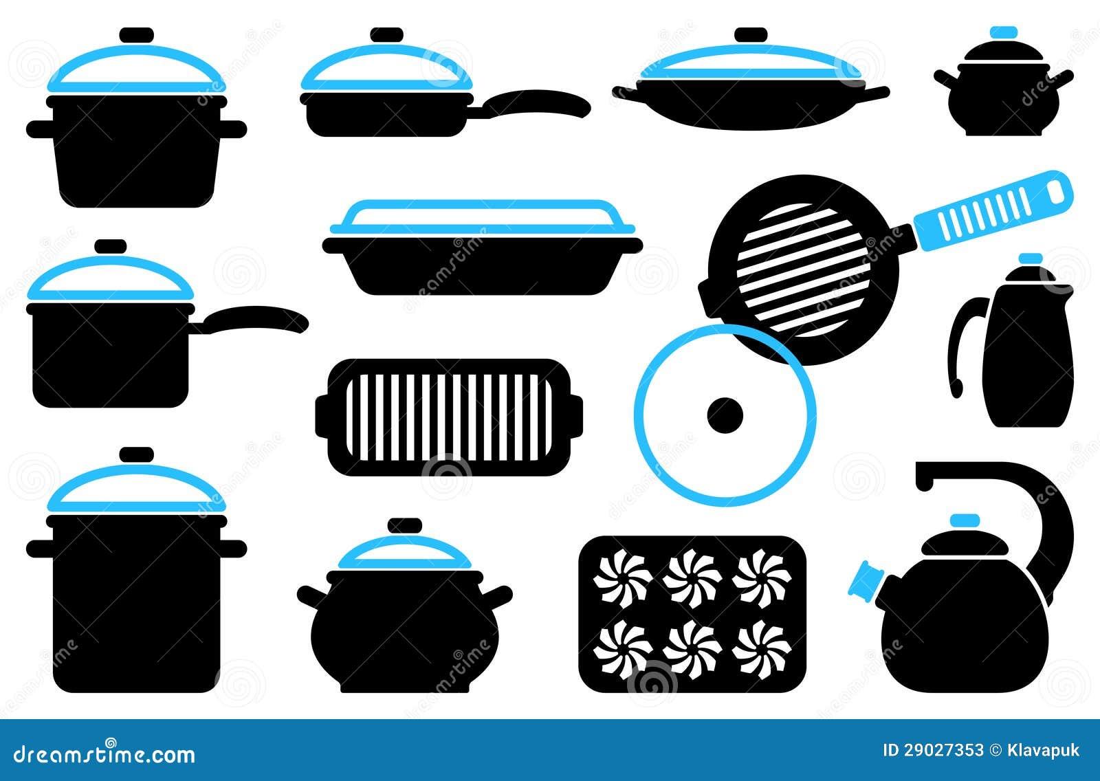 Articoli della cucina illustrazione vettoriale immagine for Articoli di cucina