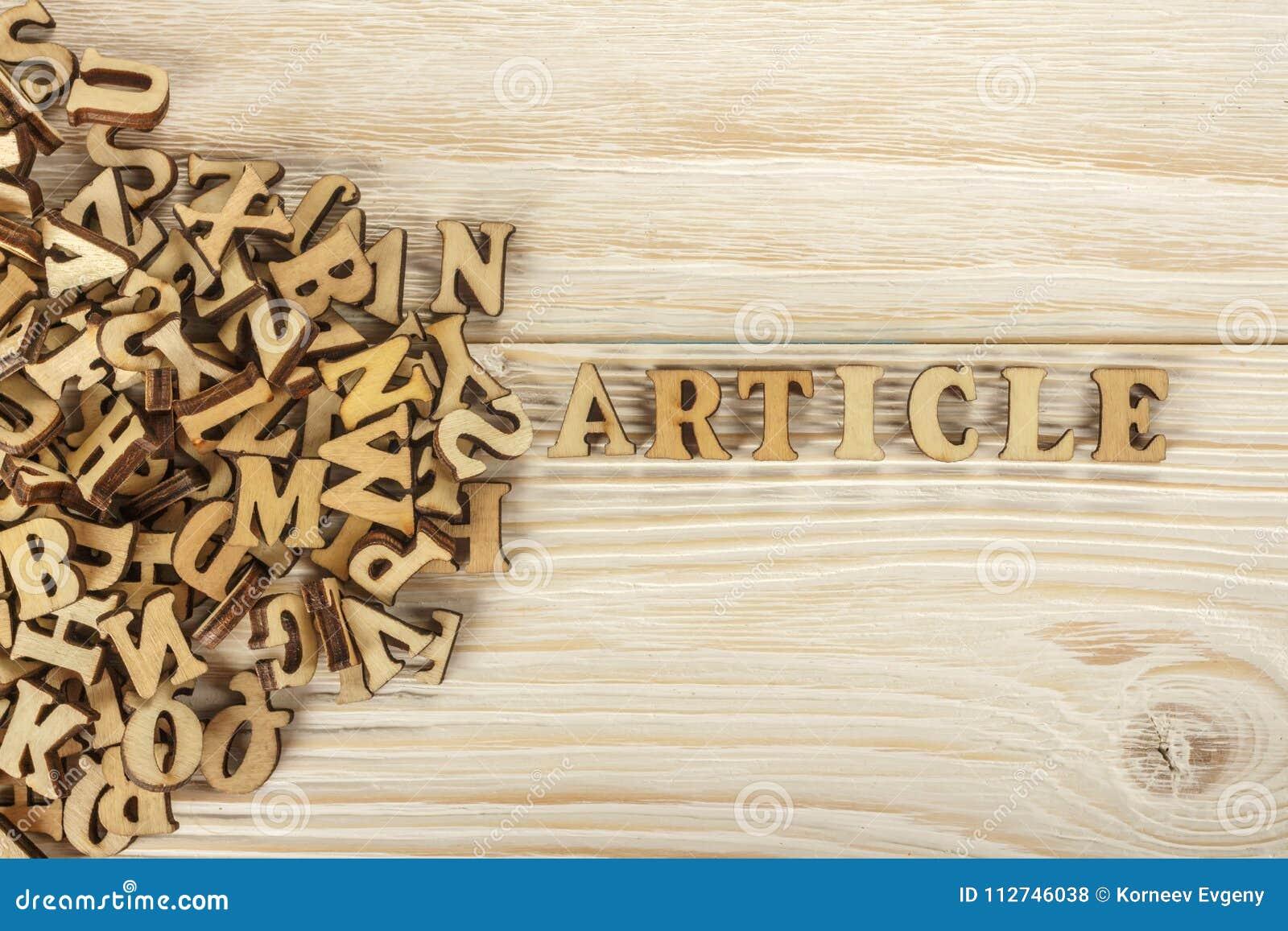 Articoli di scrittura Dal mucchio delle lettere per creare il testo FO