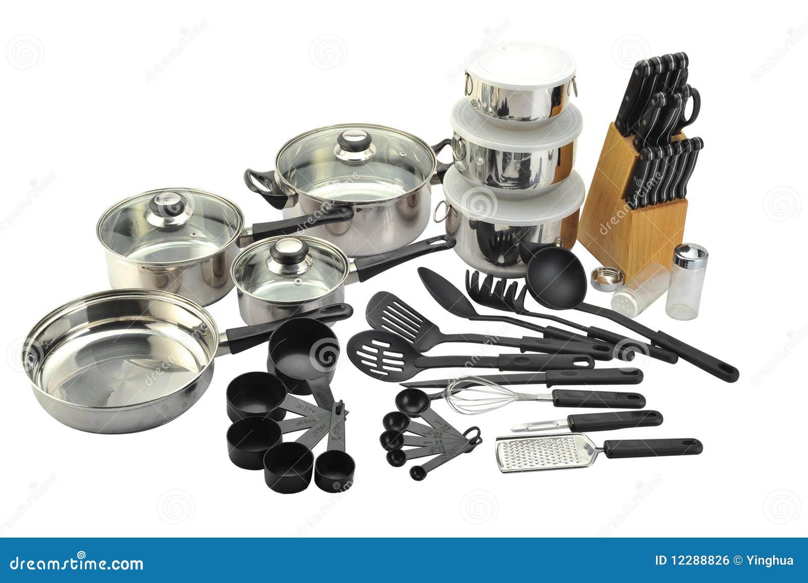 Articolo da cucina fotografia stock. immagine di chrome 12288826