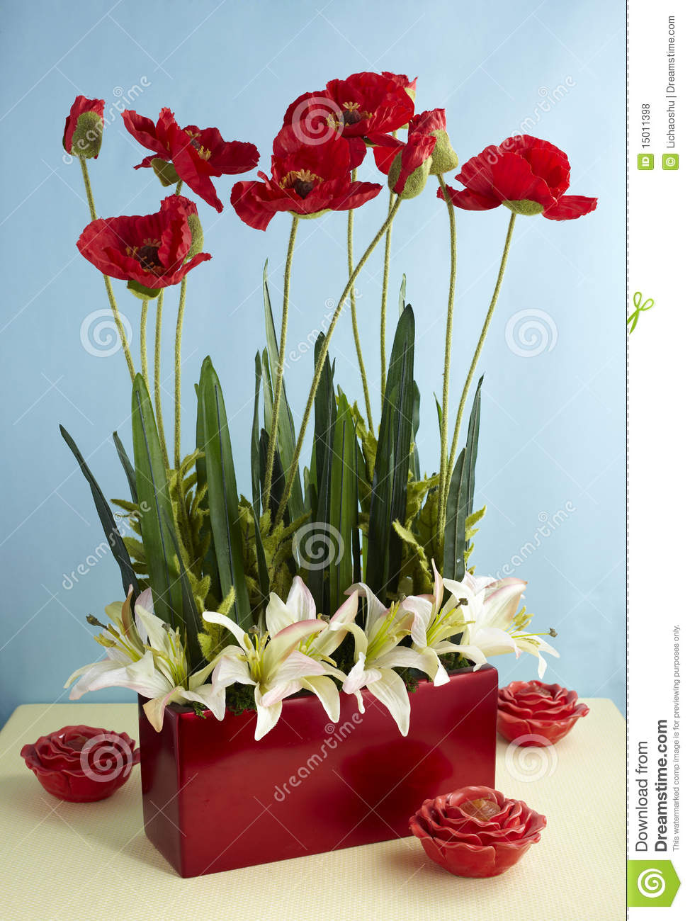 artificial background flower
