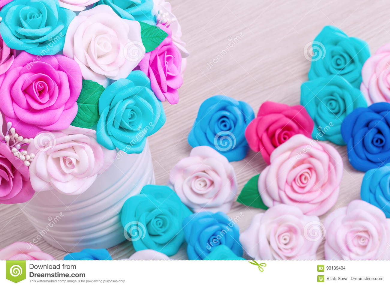 Artificial flowers roses from foam stock photo image of floral artificial flowers roses from foam mightylinksfo