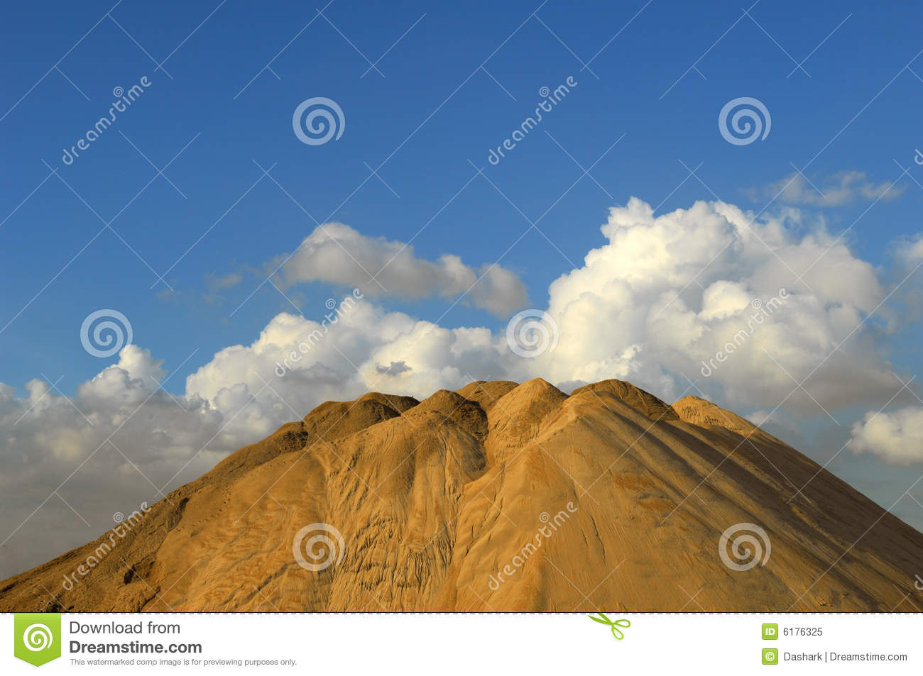 Artificial Hill Royalty Free Stock Photo Image 6176325