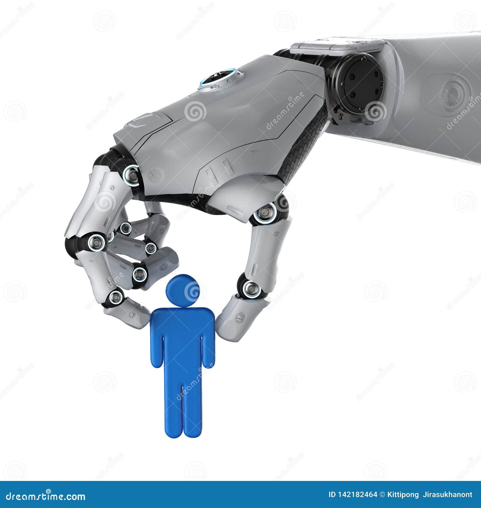 Artificial intellegence manipulation concept