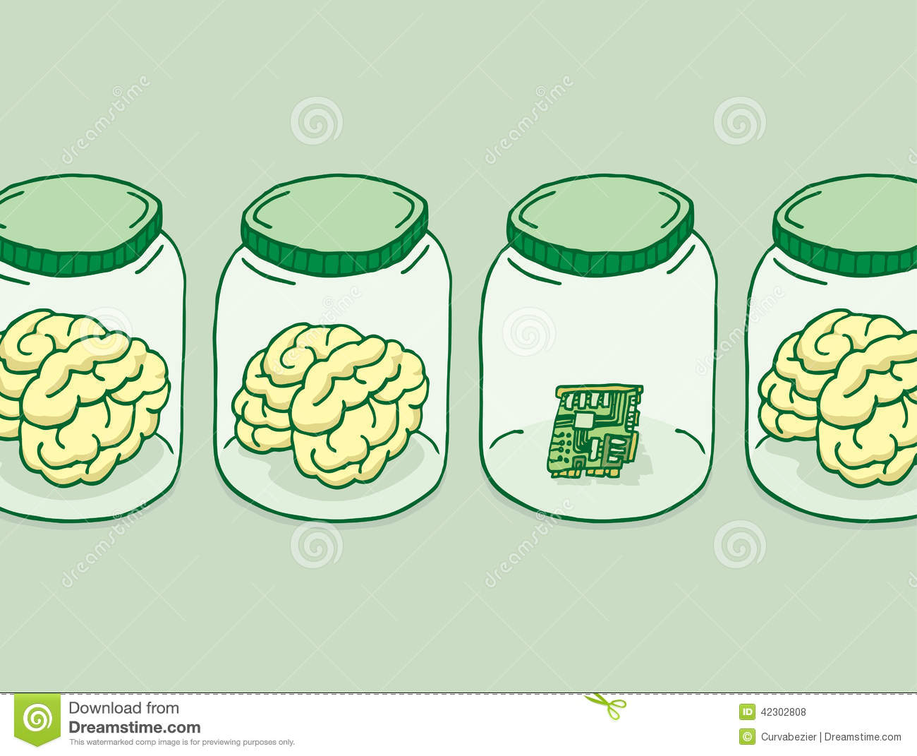 Stock Illustration Artificial Intelligence Digital Brain Cartoon Illustration Besides Brains Jars Image42302808 on tower bridge cartoon
