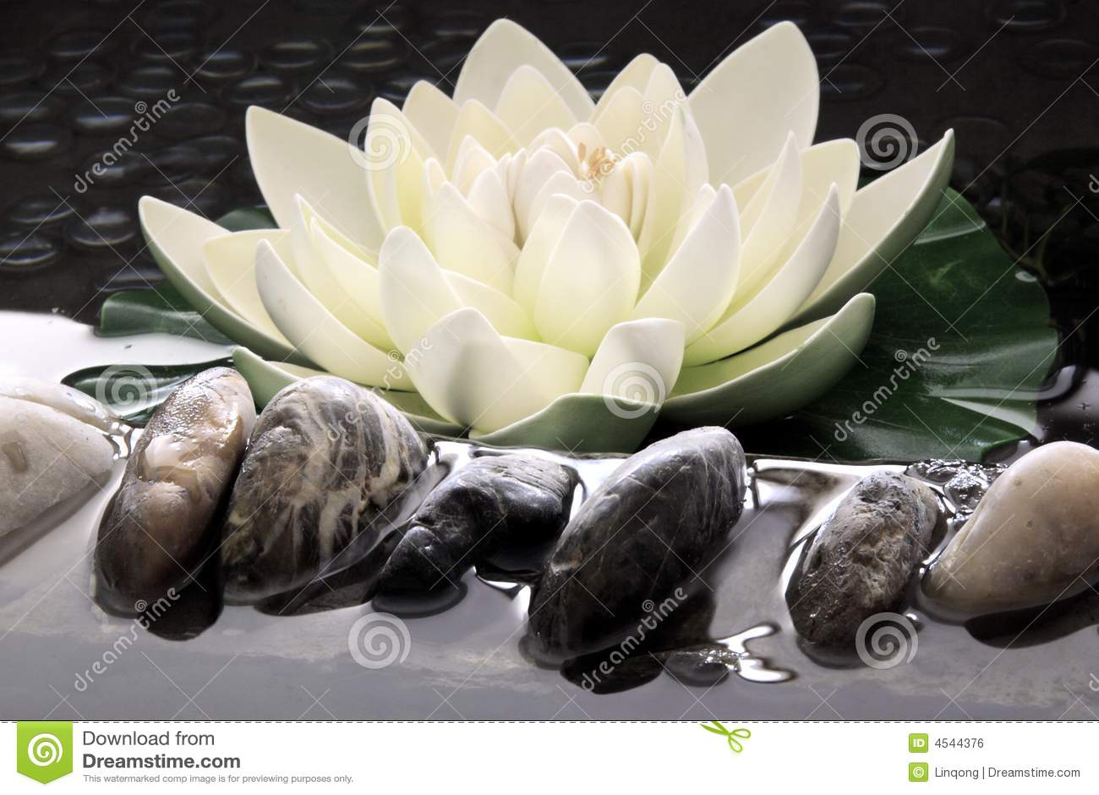 The artificial lotus