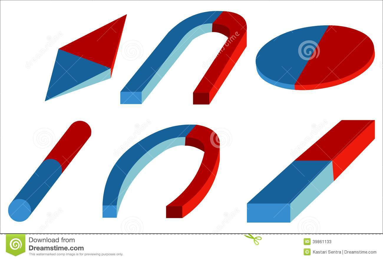 Artificial Magnet Stock Vector - Image: 39861133