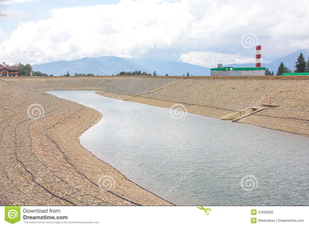 Artificial pond royalty free stock photo image 37090905 for Artificial pond