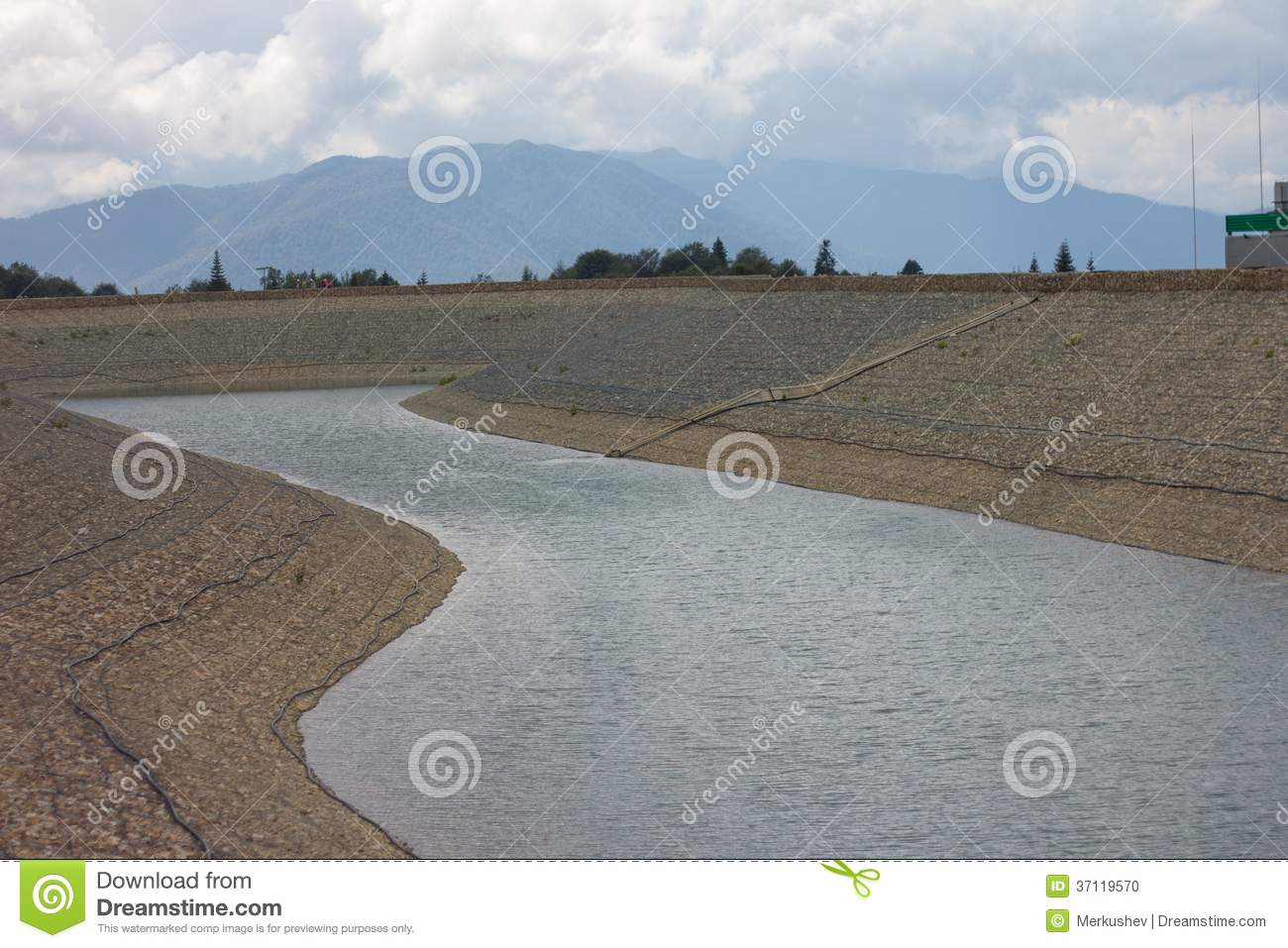 Artificial pond stock photo image 37119570 for Artificial pond