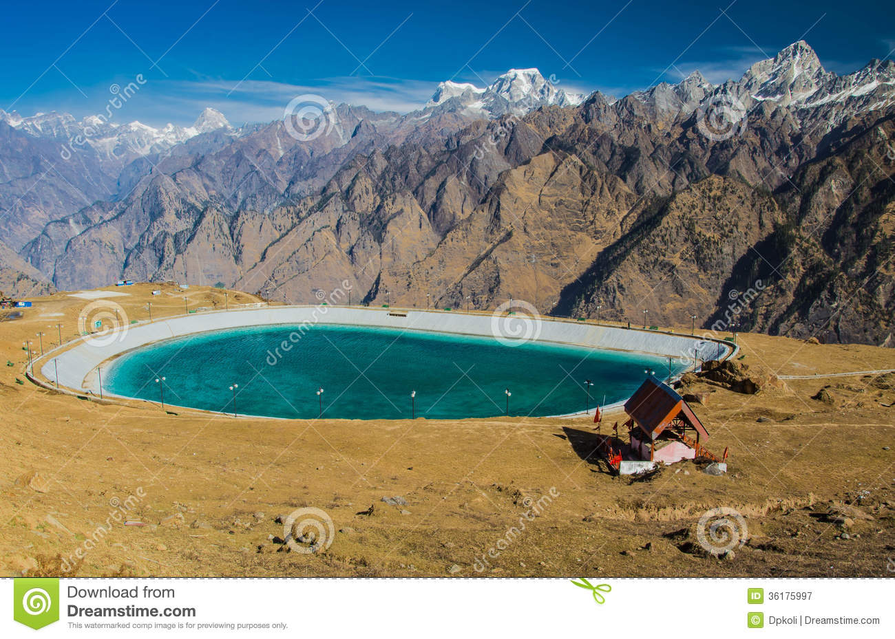 Artificial water body royalty free stock photography for Artificial pond water