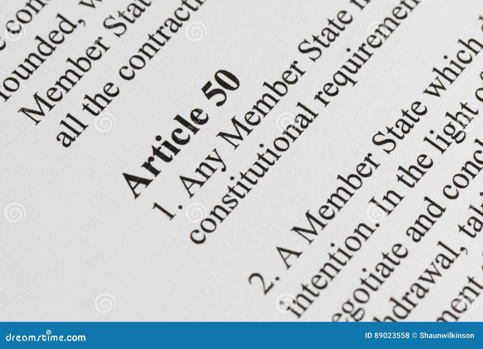 Artigo 50