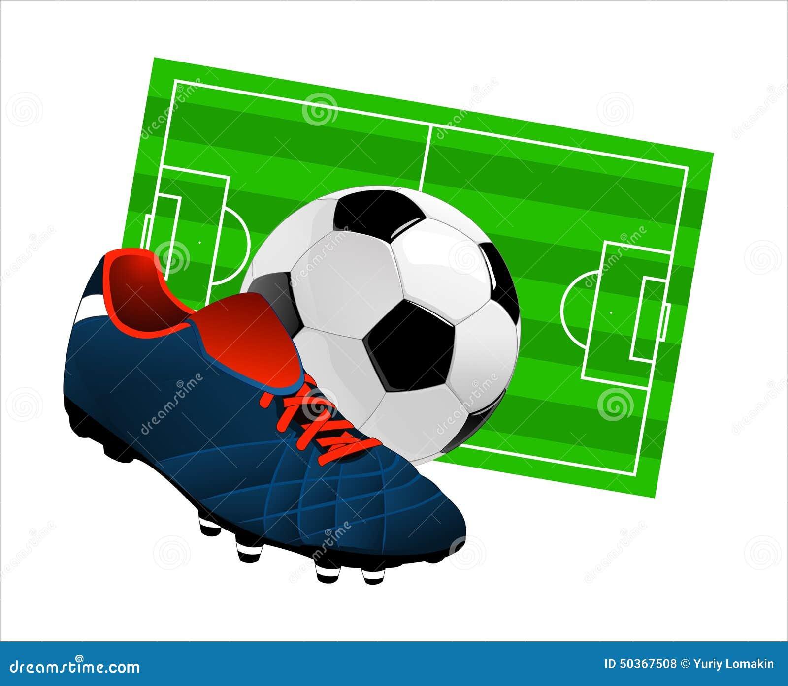 Artigos do futebol ilustração stock. Ilustração de porta - 50367508 c968067cbd9ed