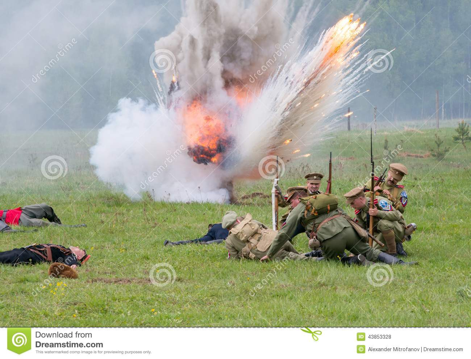 Artillerie atack