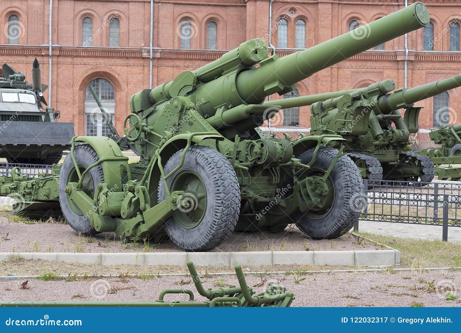 Artilleriutläggning i den öppna luften Museum för militär historia