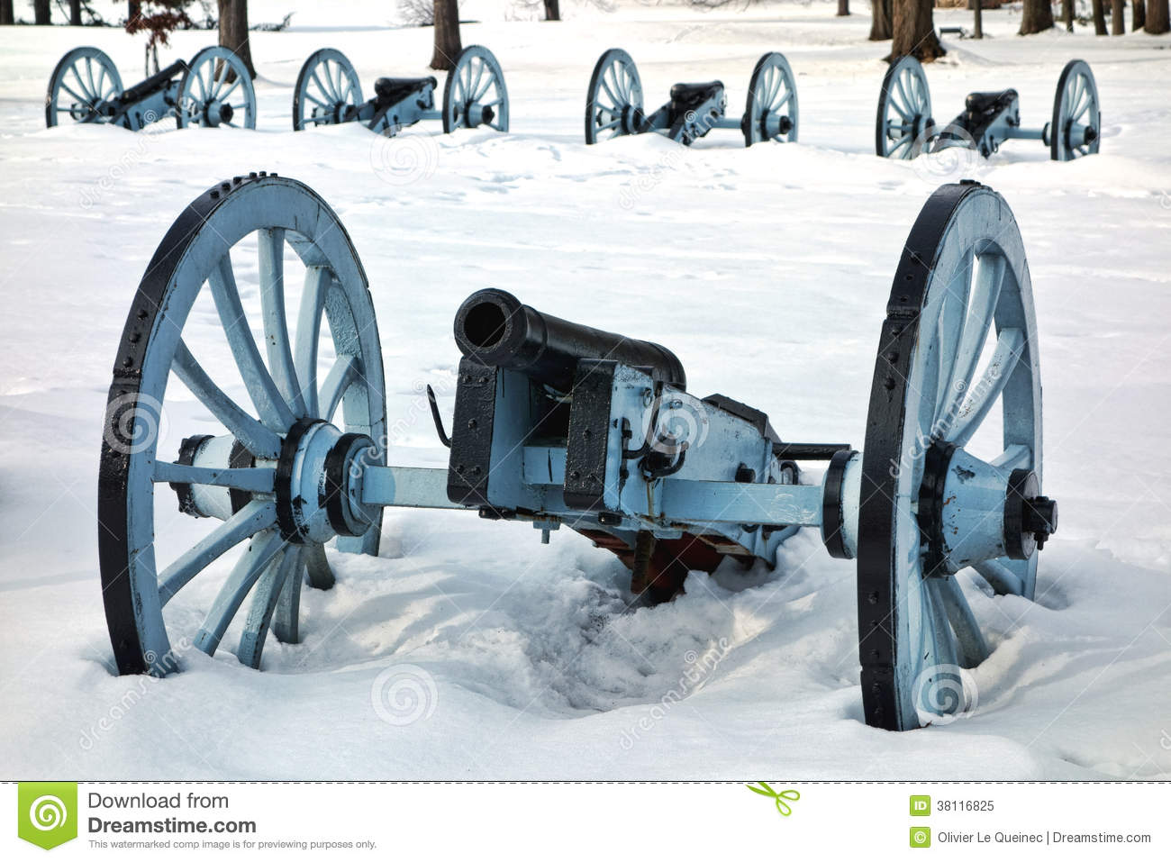 Artillery War Canon at Valley Forge National Park
