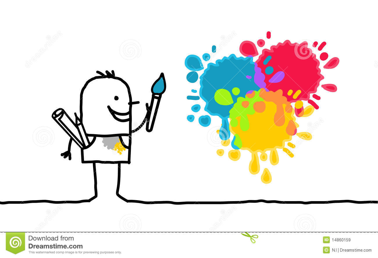 Artist and colors