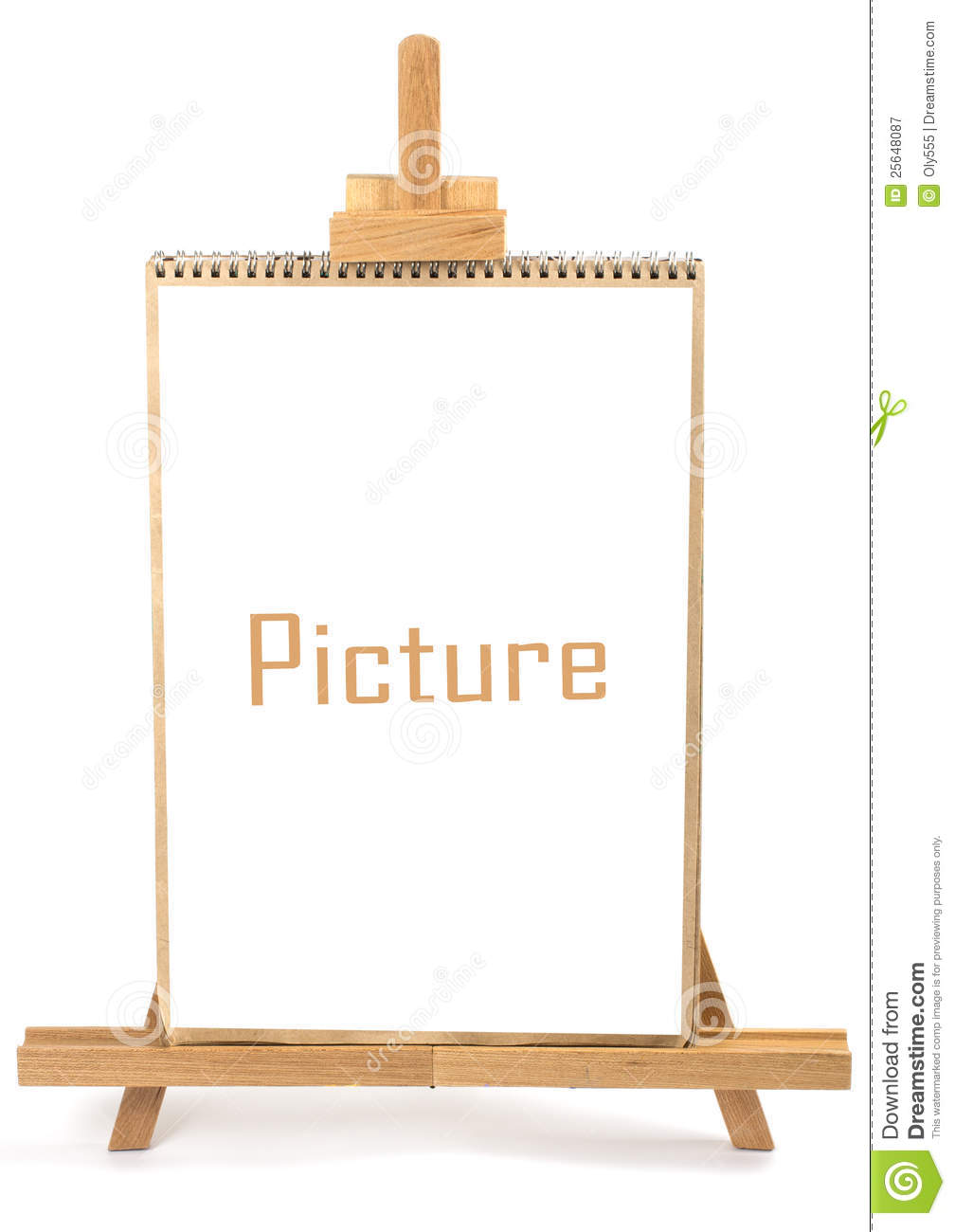 artist easel and frame