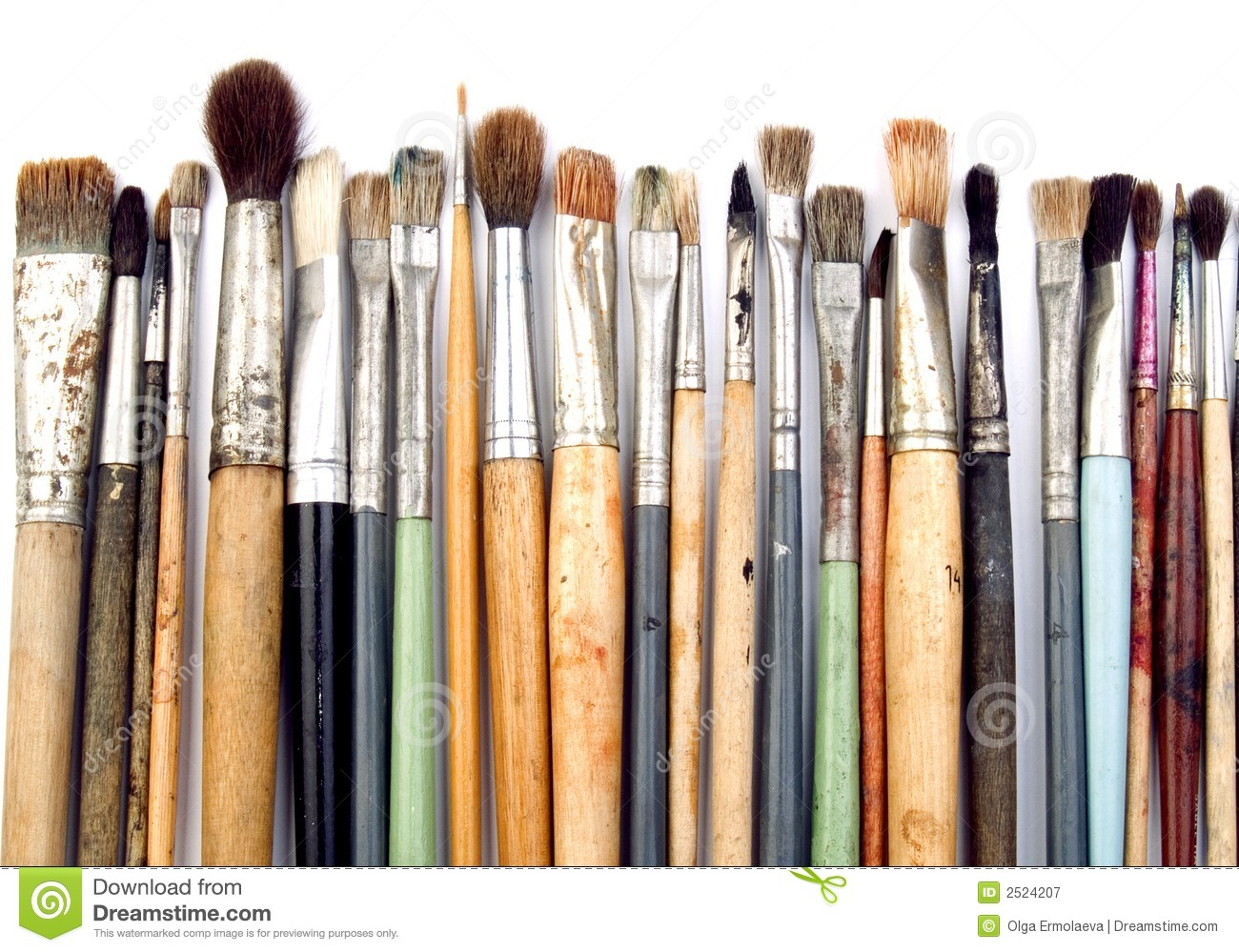 S Artist Paint Brush