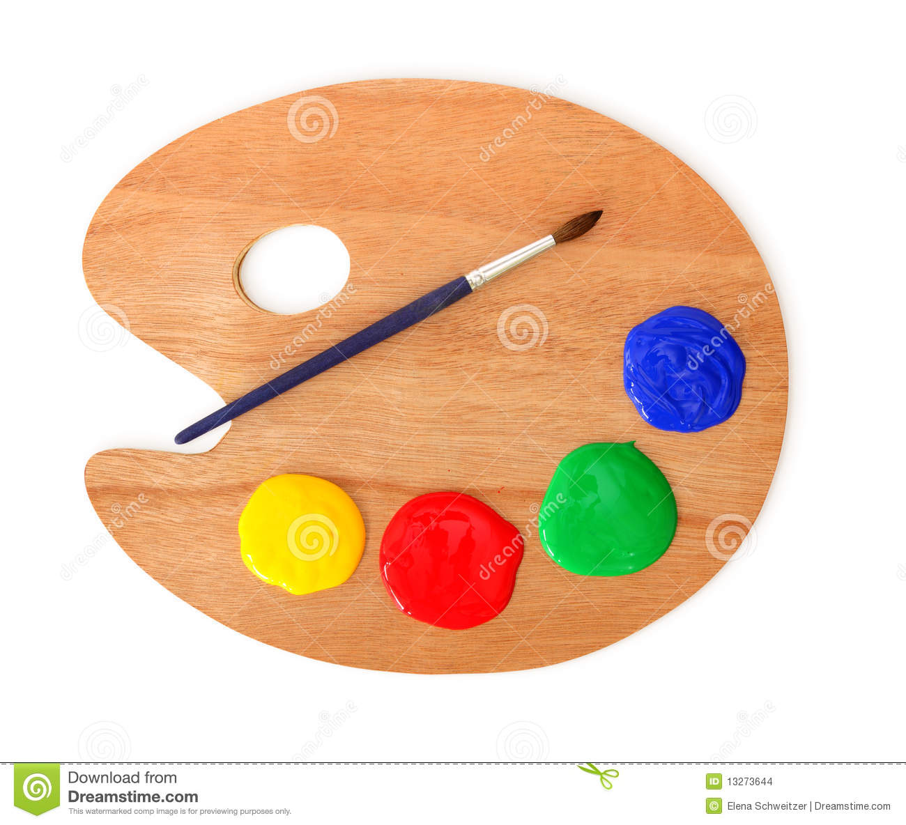 Artist's Palette And B...