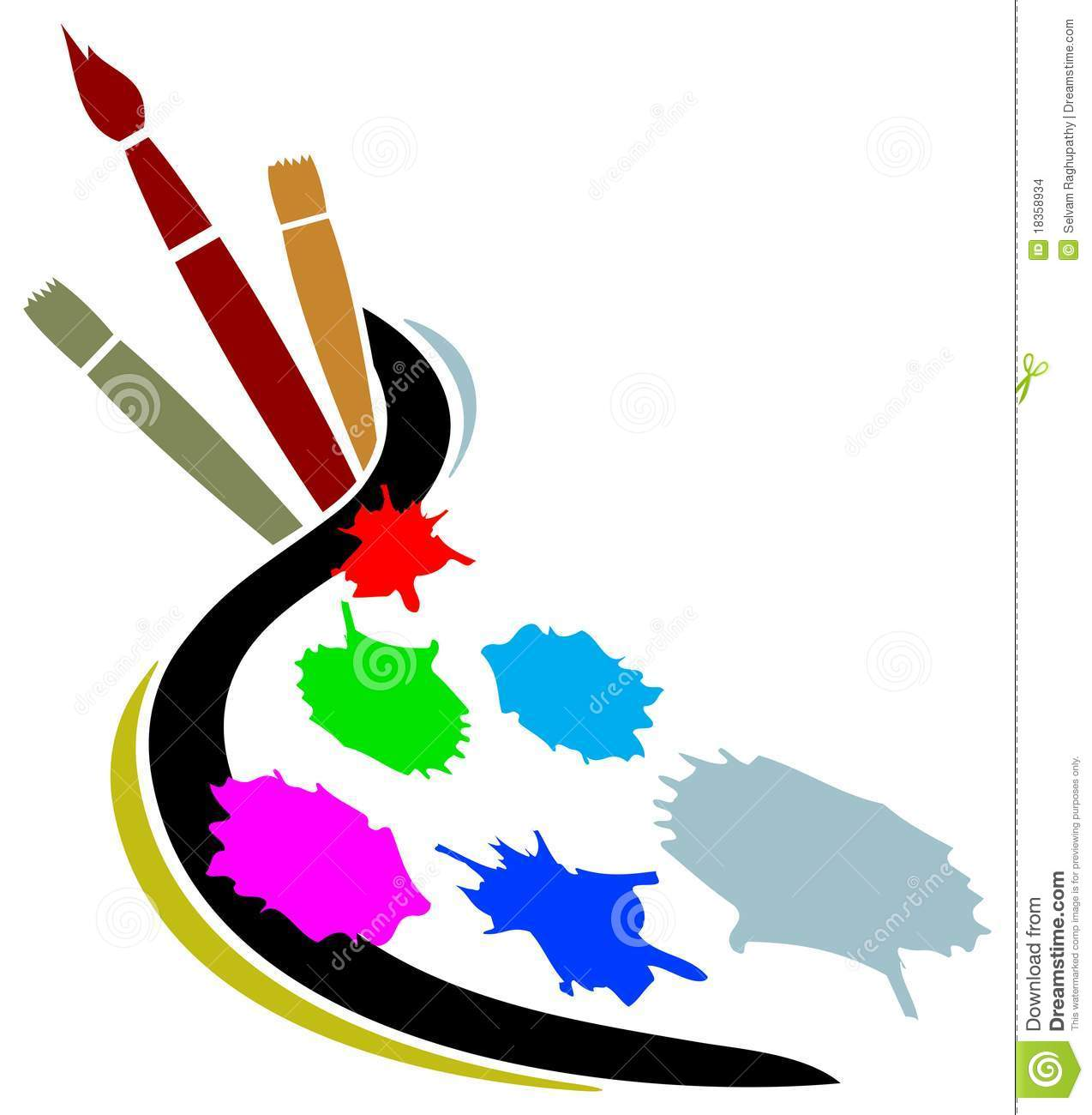 artist studio logos artists line result artwork brush graphic vector cool illustration painter preview arte google dreamstime