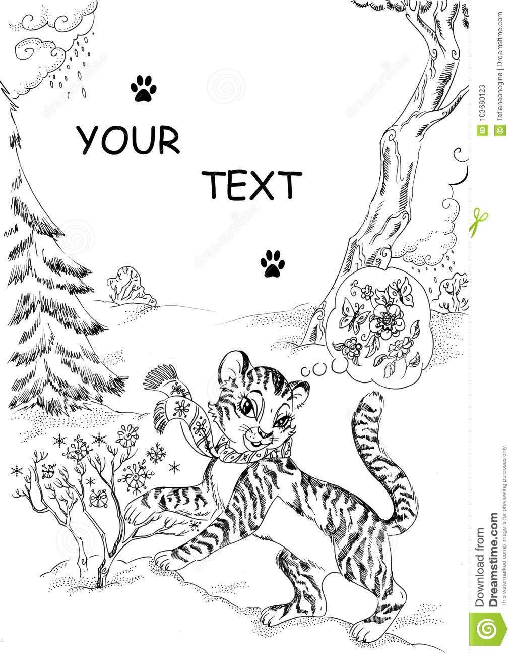 Tiger Coloring Pages: Powerful Pussycats | 1300x1020