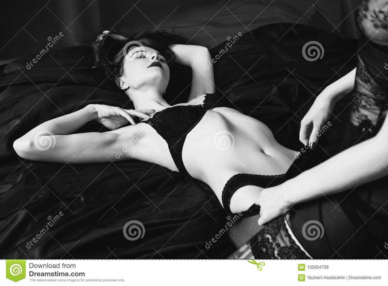 Black and white erotic photography lesbian