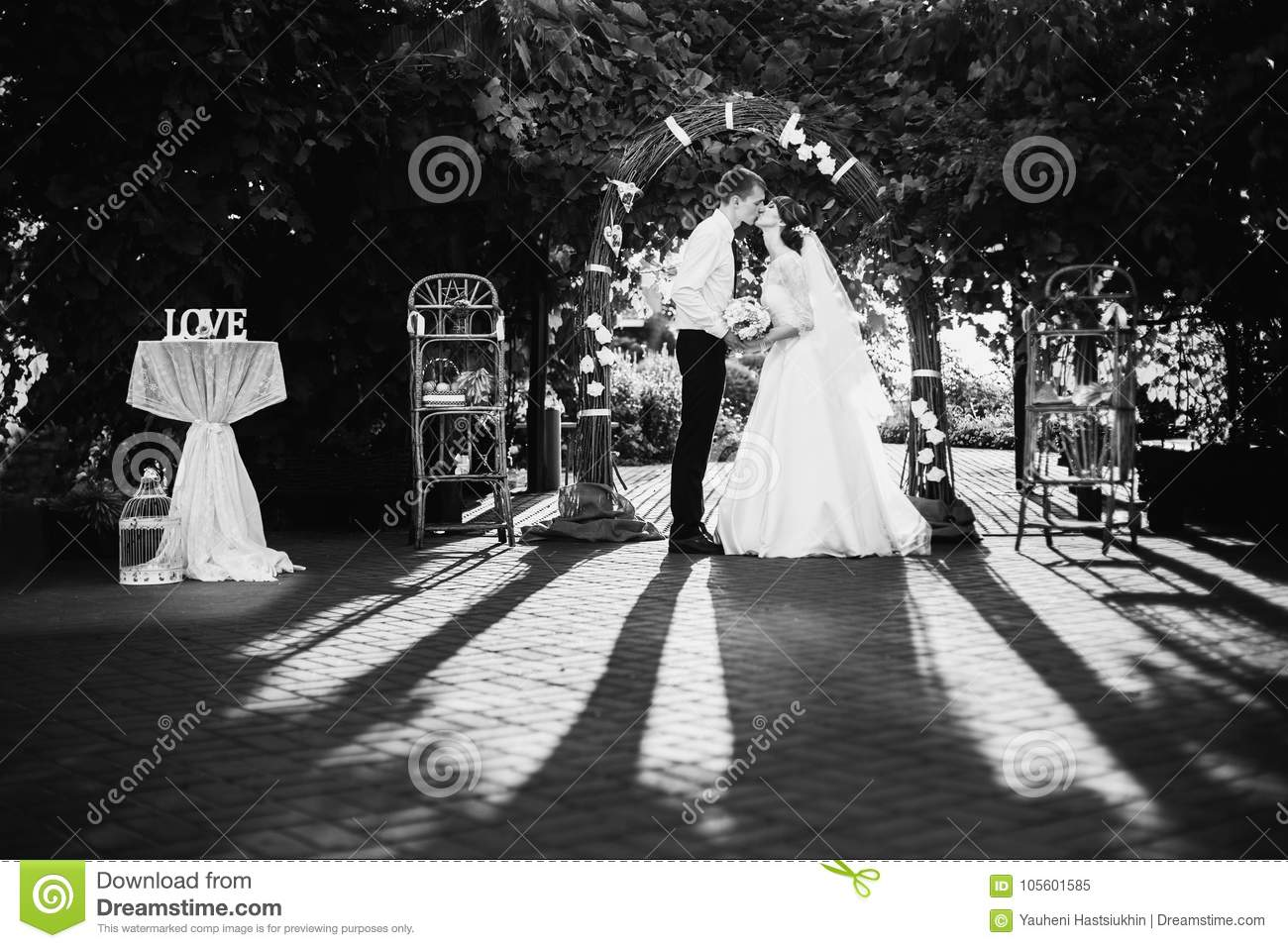 Artistic Black And White Photography Wedding Photography Stock