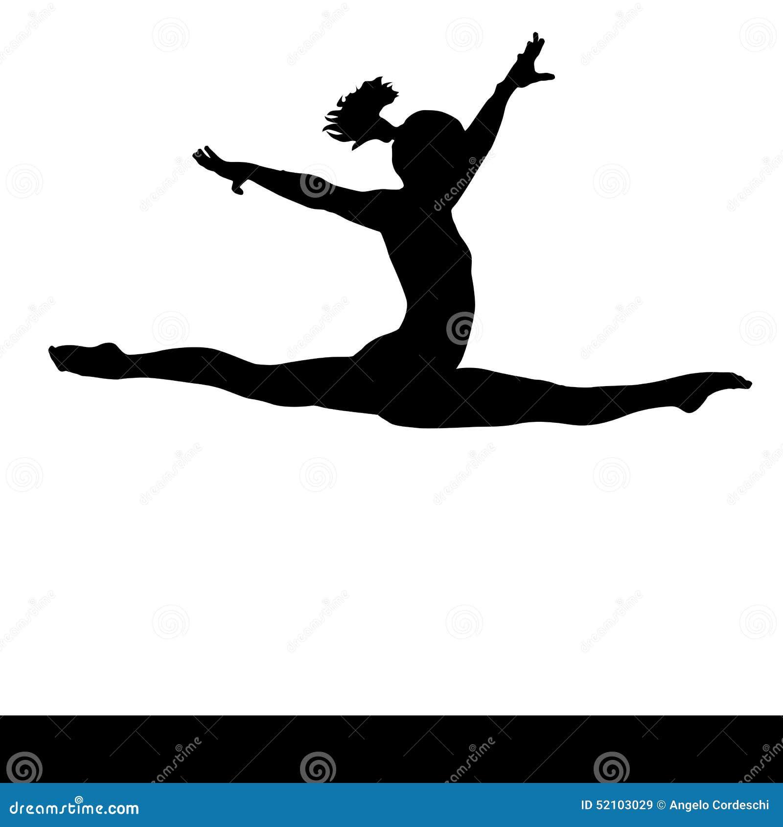 Gymnastics Stock Illustrations