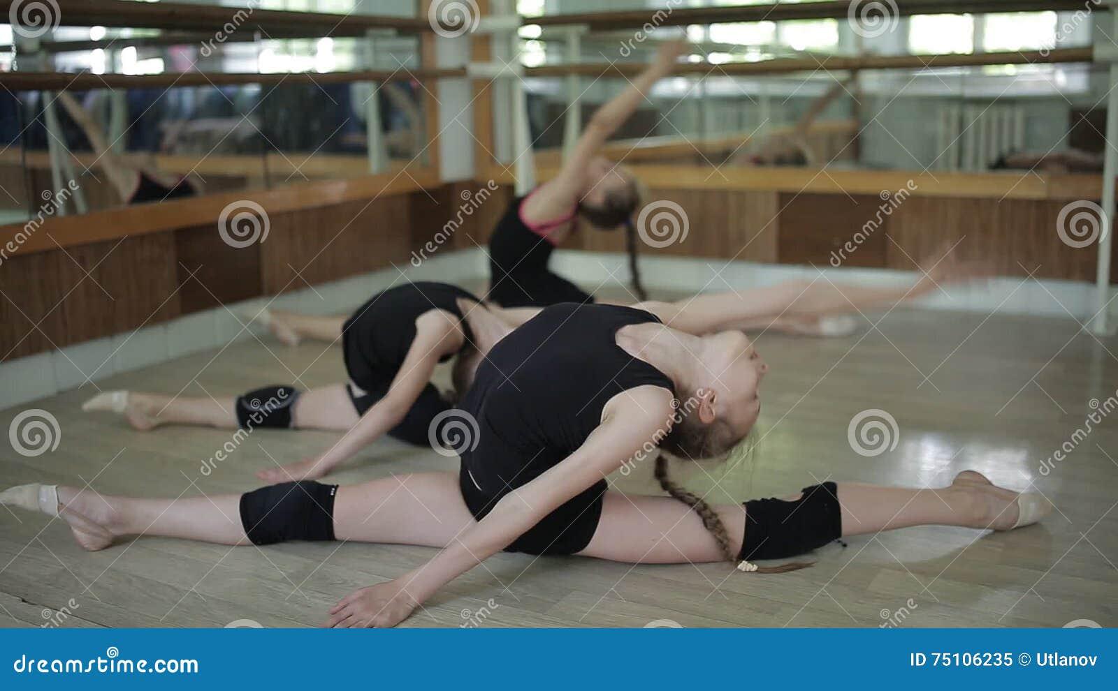 Rhythmic Gymnastics Competition - Blurred Stock Photo