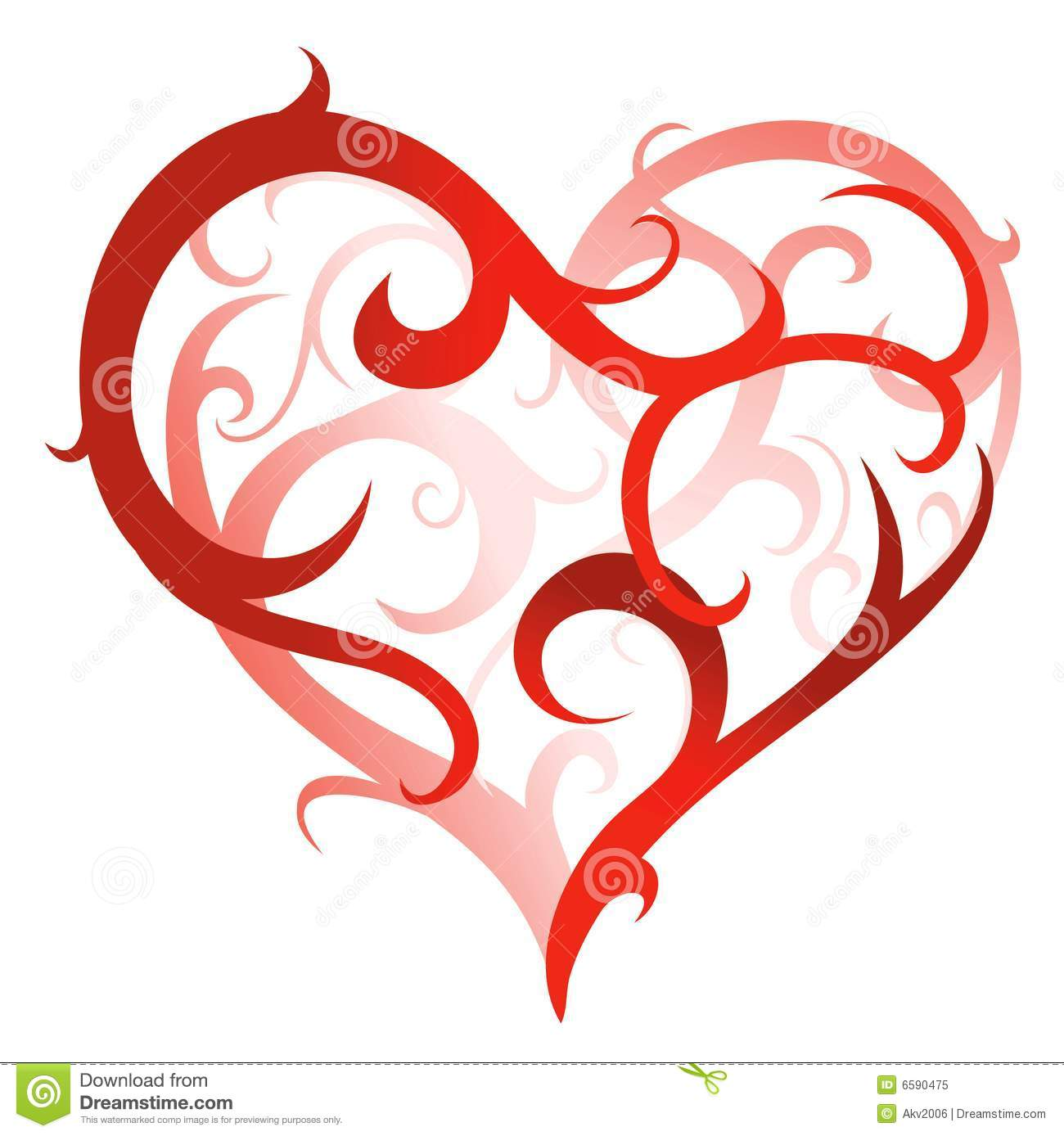 Artistic Heart Shape Royalty Free Stock Photo Image 6590475