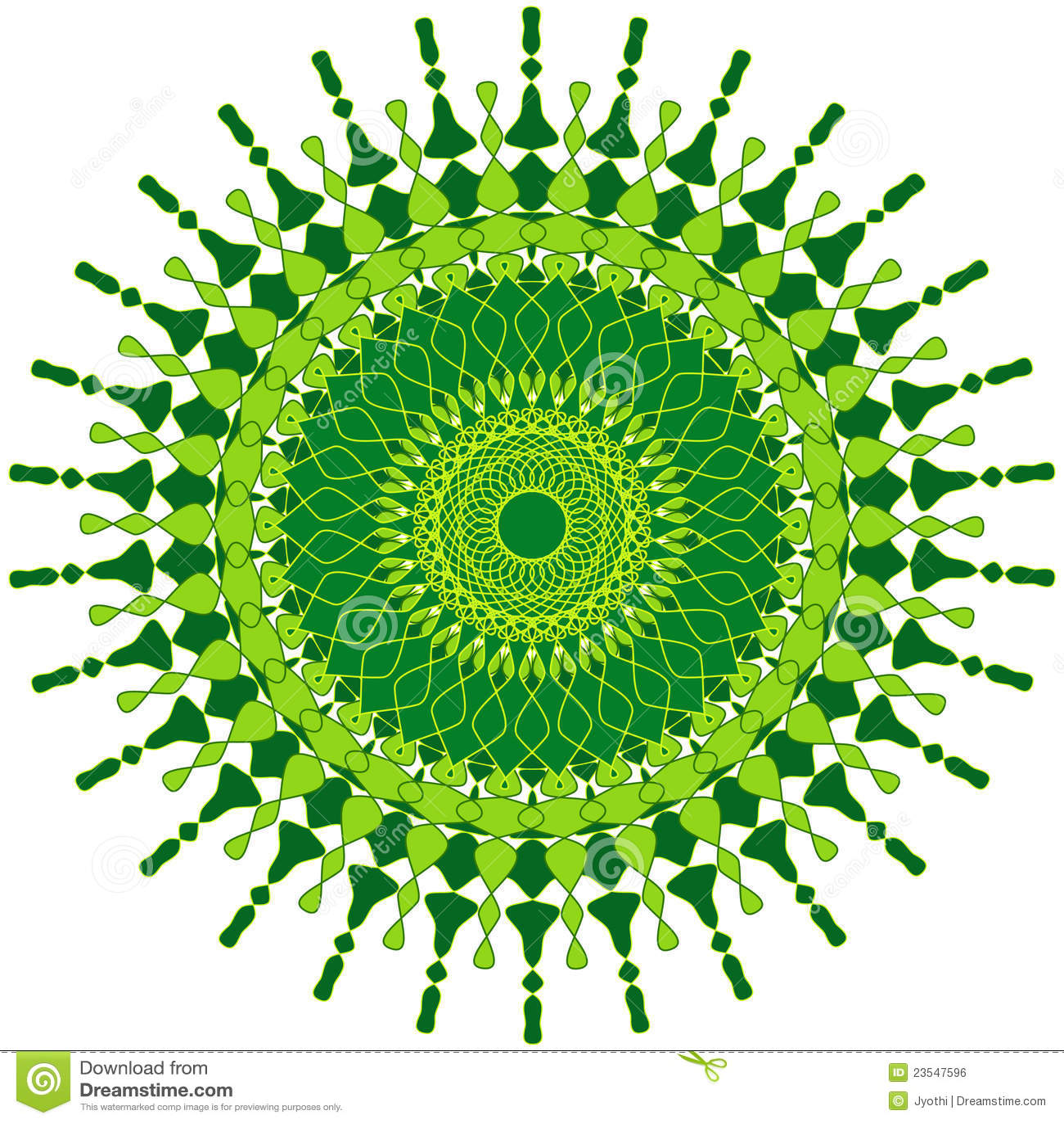 Artistic Mandala Stock Illustration Image Of Mandala