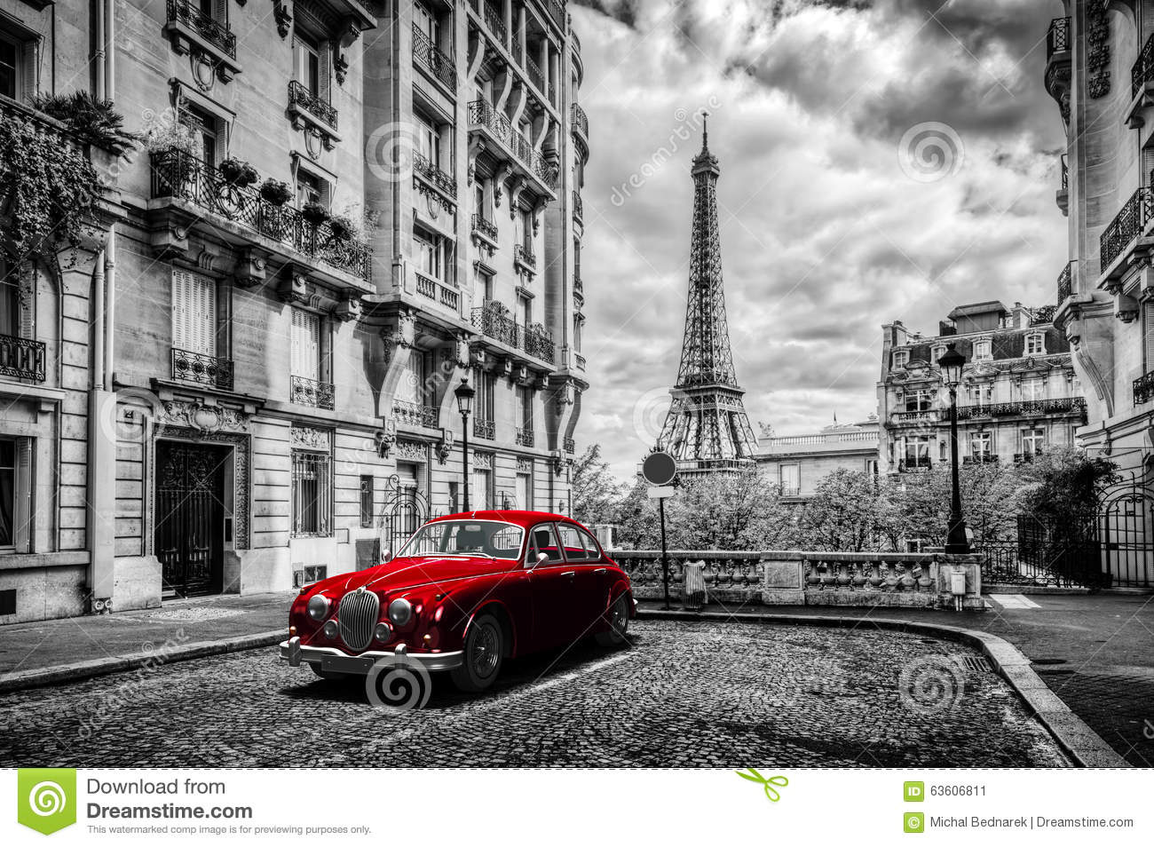 Street Photography Classic Cars Black And White