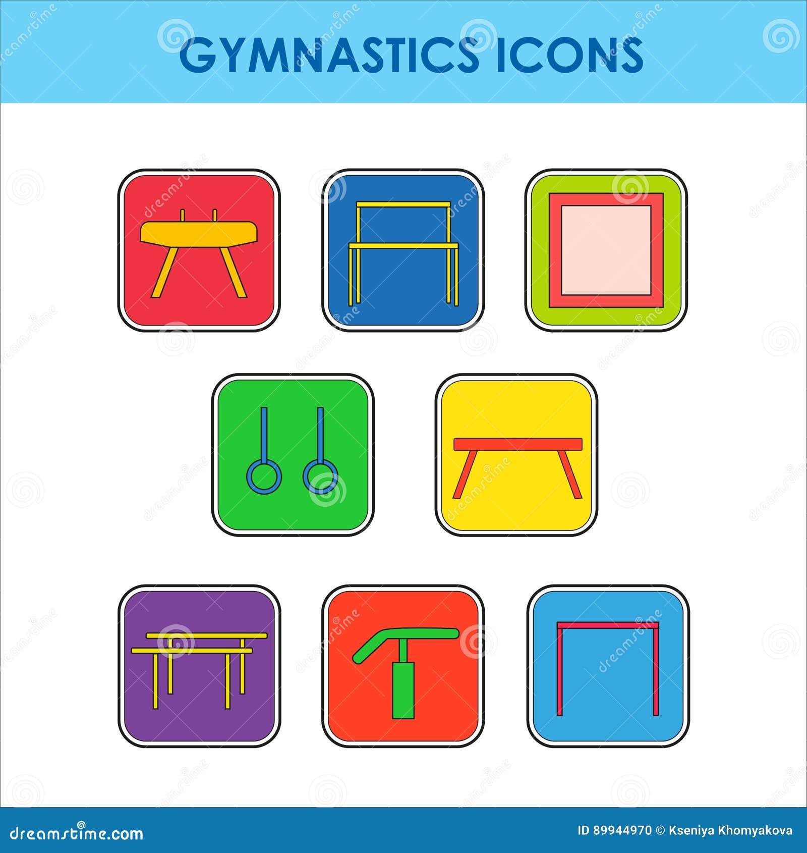 Artistiek gymnastiekmateriaal