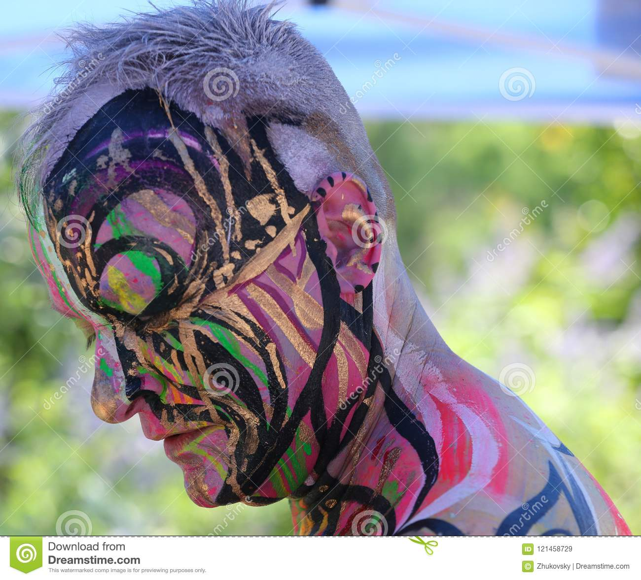 NYC Bodypainting Day. July 20, 2019. - Love Is Amor