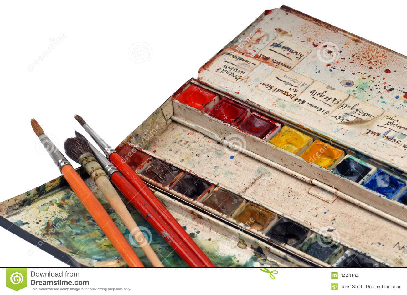 Artists Watercolours