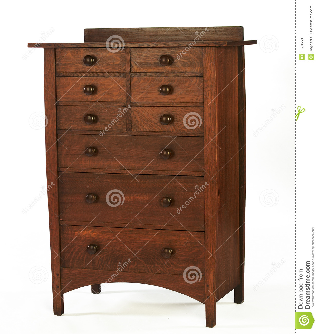 arts and crafts dresser arts and craft era oak dresser editorial stock photo 3371