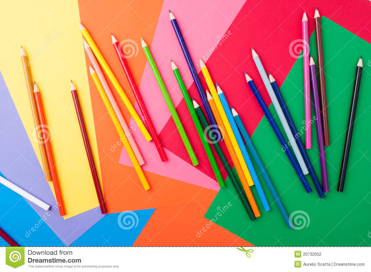 Arts and crafts supplies stock photography image 20732052 for Arts and crafts supplies online