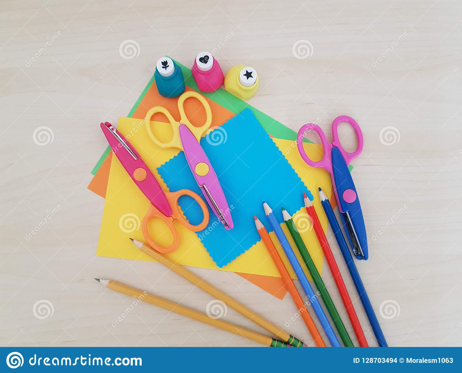 Arts And Crafts Supply Kids Crafts Back To School School Supplies