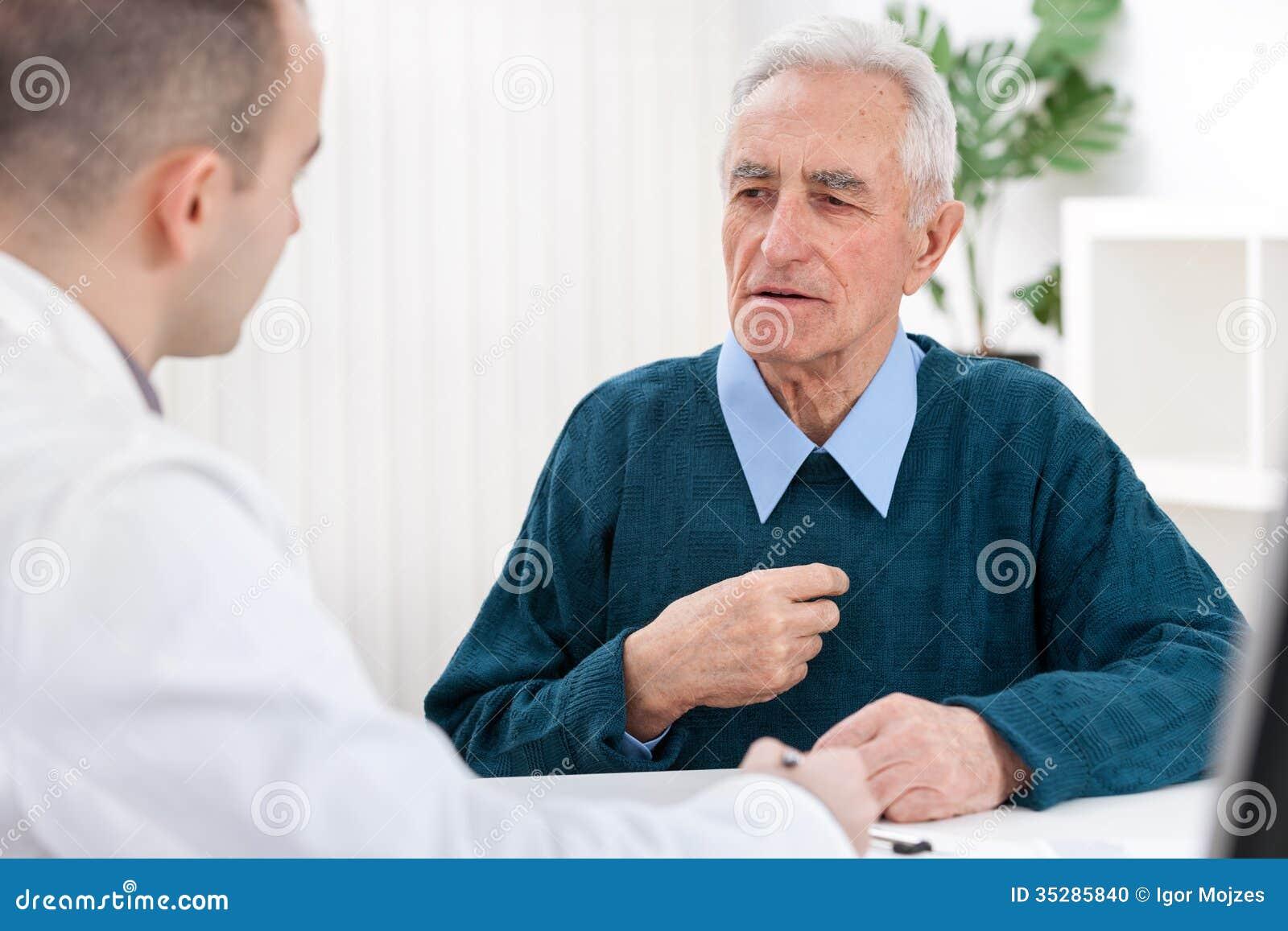 Arts en een Bejaarde Patiënt