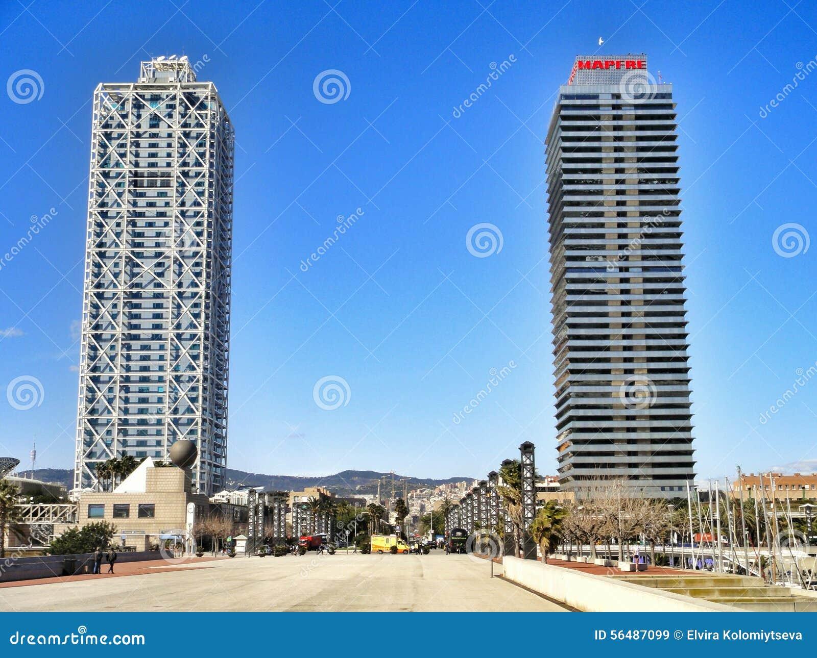 Arts et Torre Mapfre d hôtel