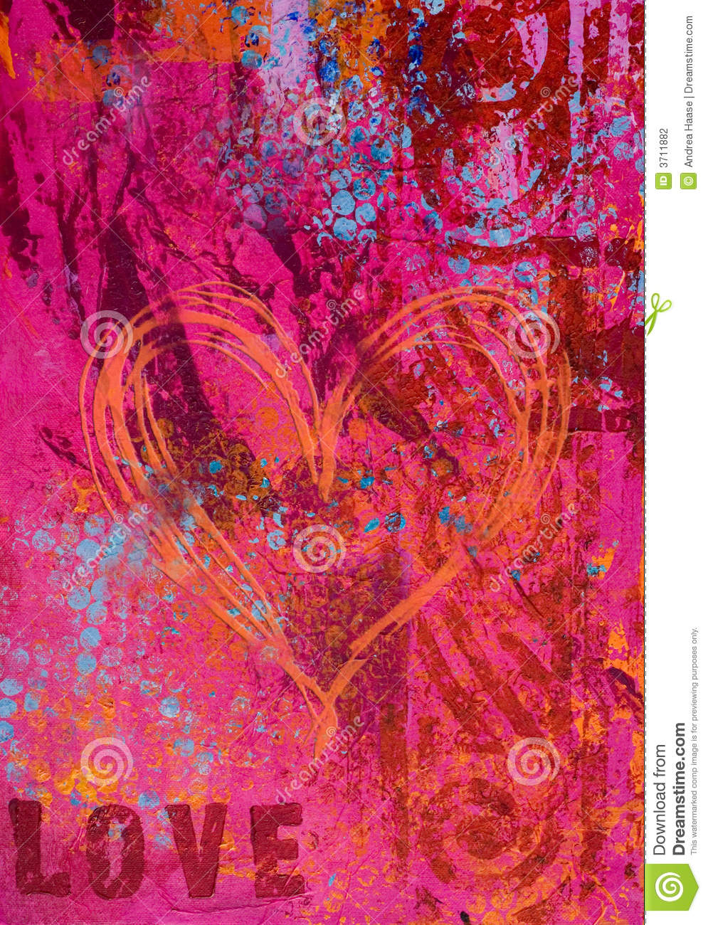 Artwork background love stock illustration. Illustration ...