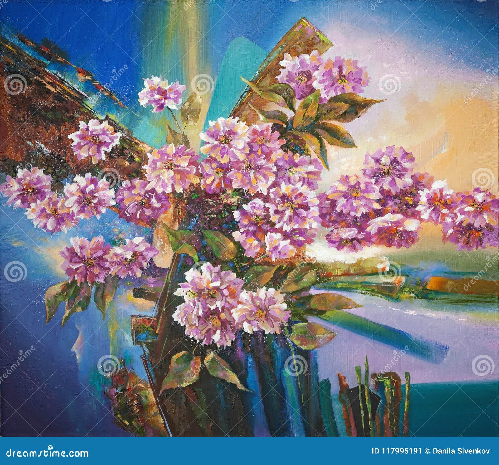 Artwork Flores de Sakura Autor: Nikolay Sivenkov