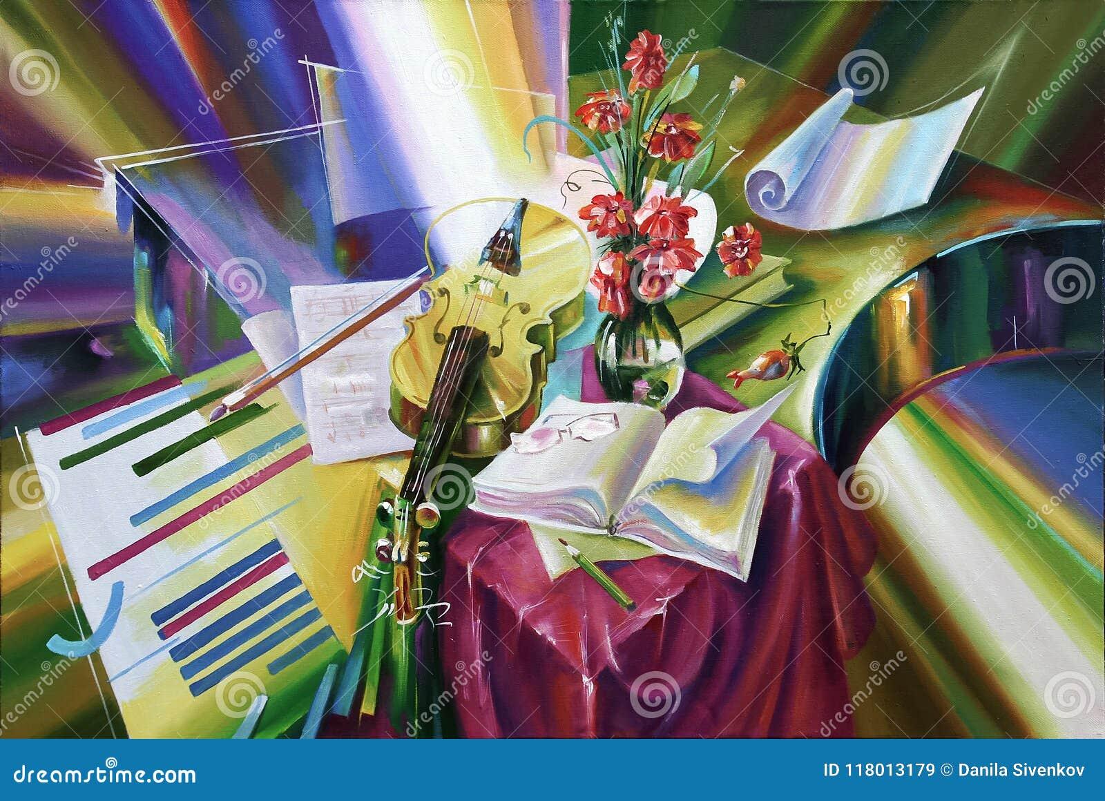 Artwork Iluminação do compositor Autor: Nikolay Sivenkov