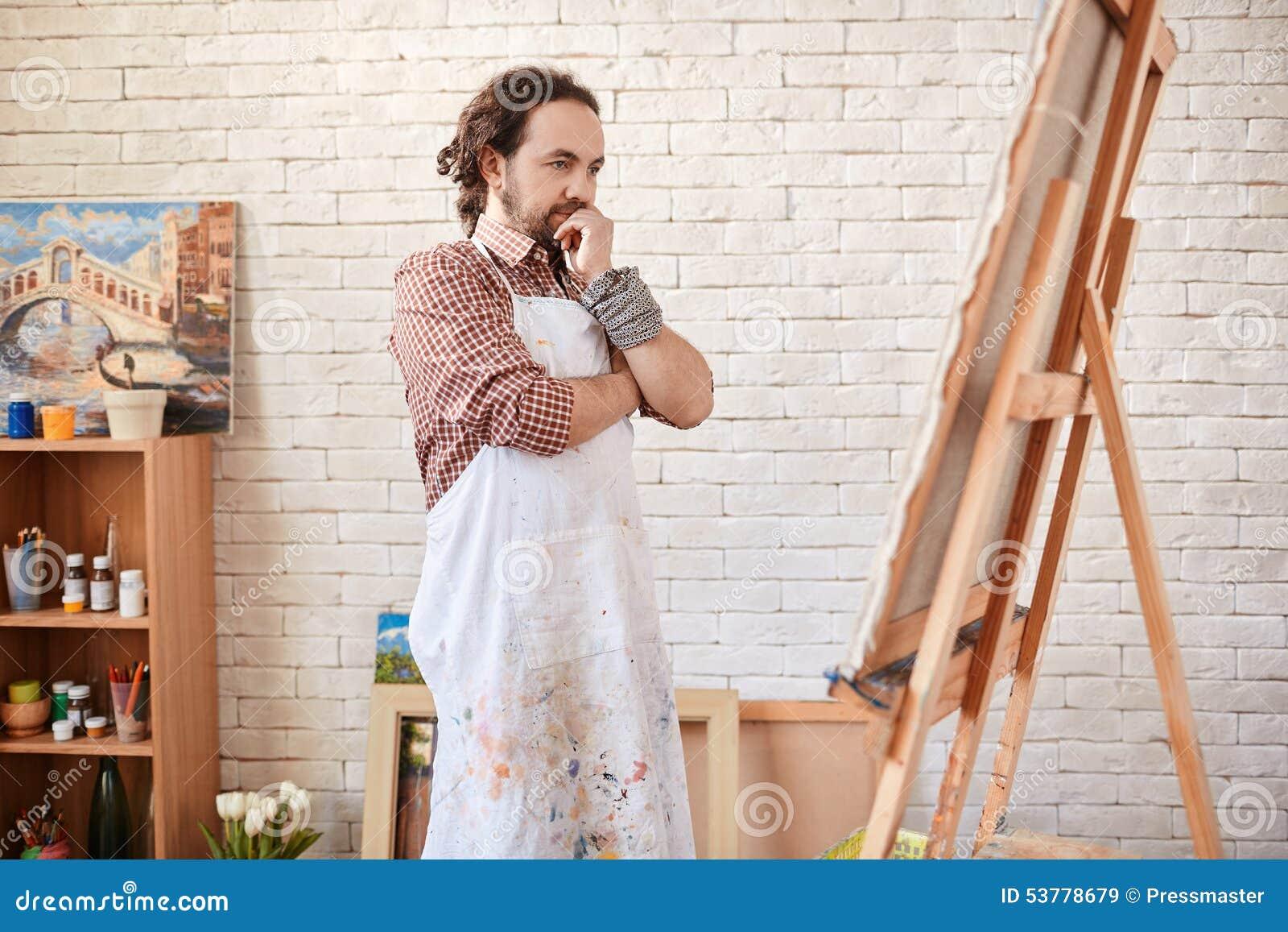 Artysta w studiu