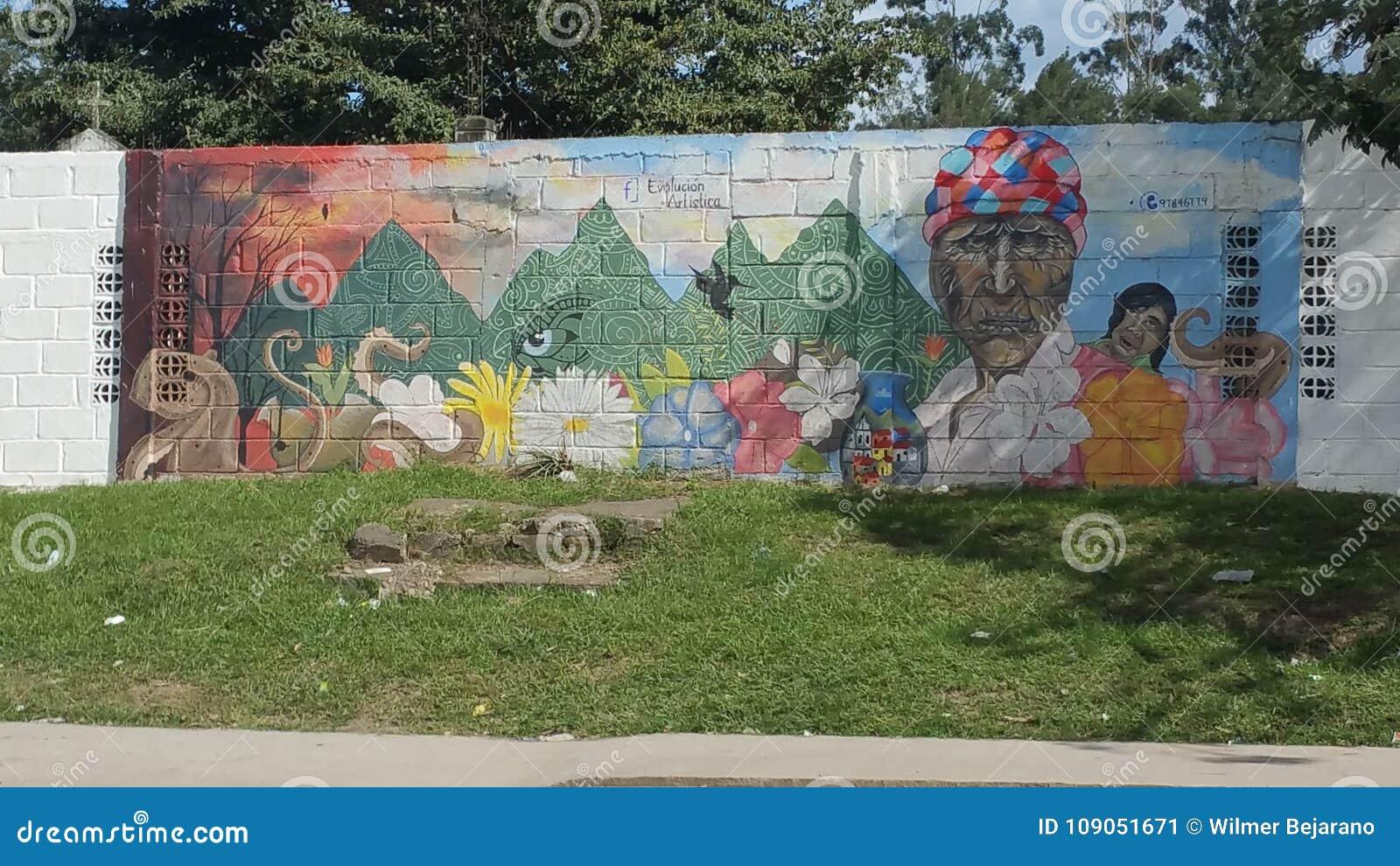 Artystyczna ewolucja - Siguatepeque, Honduras CA
