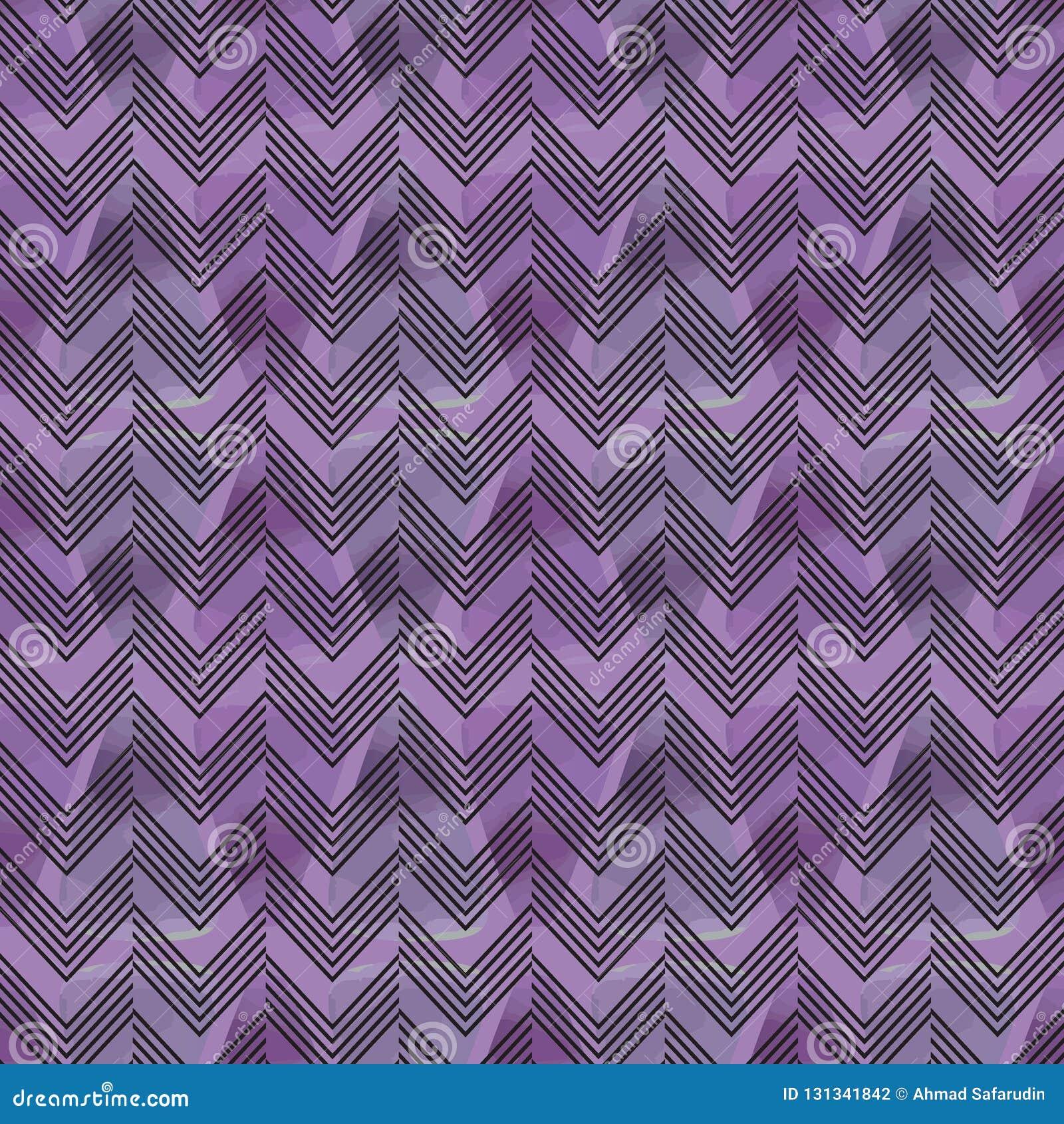 Artystyczny abstrakcjonistyczny akwareli tło z szewronu bezszwowym wzorem